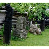 Muzeul Popa - Curtea cu sculpturi - aspecte 06.jpg