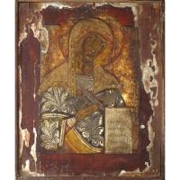 Casa colectiilor - Sala 5 - Obiecte religioase - icoana lemn  01.jpg