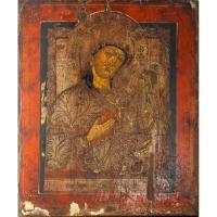 Casa colectiilor - Sala 5 - Obiecte religioase - icoana lemn  02.jpg