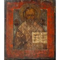 Casa colectiilor - Sala 5 - Obiecte religioase - icoana lemn  04.jpg
