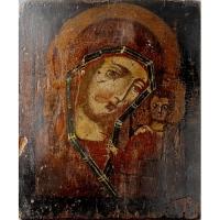 Casa colectiilor - Sala 5 - Obiecte religioase - icoana lemn  06.jpg