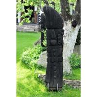 Neculai Popa - Sculptura lemn - Personaje curte 02.jpg