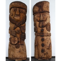 Neculai Popa - Sculptura lemn - Personaje 02.jpg