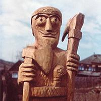 Sculptura lemn - Gal personaje_200px
